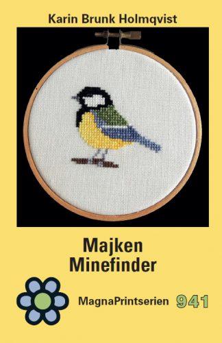 Coveret af Karin Brunk Holmquist's bog: Majken Minefinder